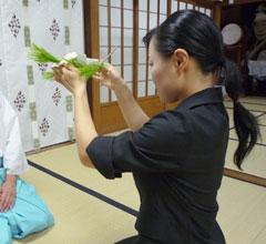 玉串奉奠の作法