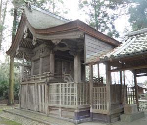 小幡神社本殿