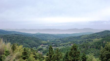 八雲山から眺める風景